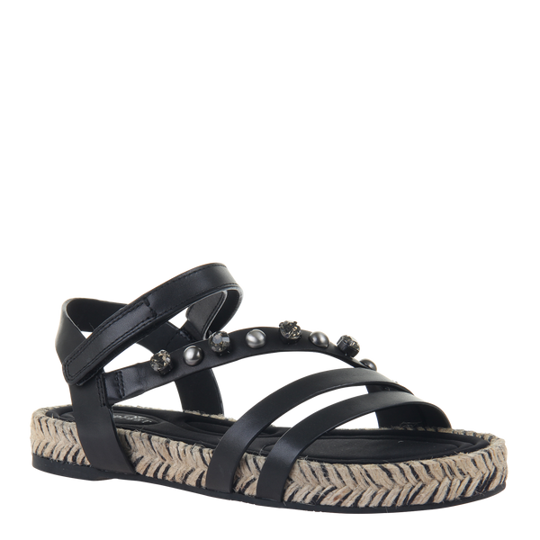 Womens sandal in Arko in black