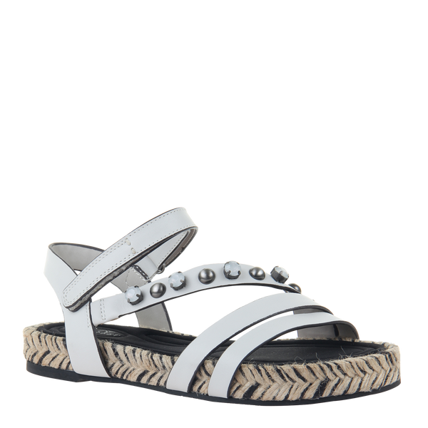 Womens sandal in Arko in Dove Grey