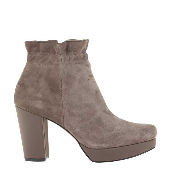 Womens bootie attis in grey right