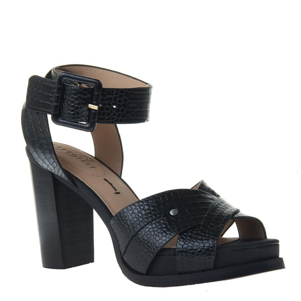 CIRO in BLACK Heeled Sandals