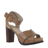 Womens heel ciro in Honey