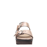 Womens sandal Corvi in Copper front