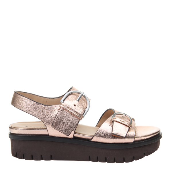 Womens sandal Corvi in Copper right