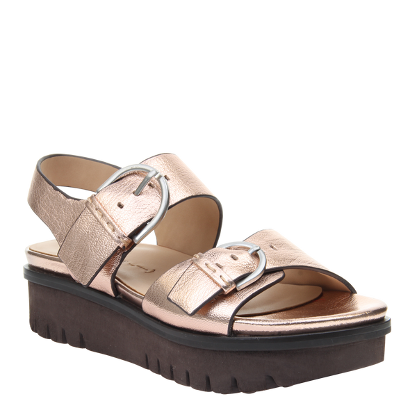 Womens sandal Corvi in Copper
