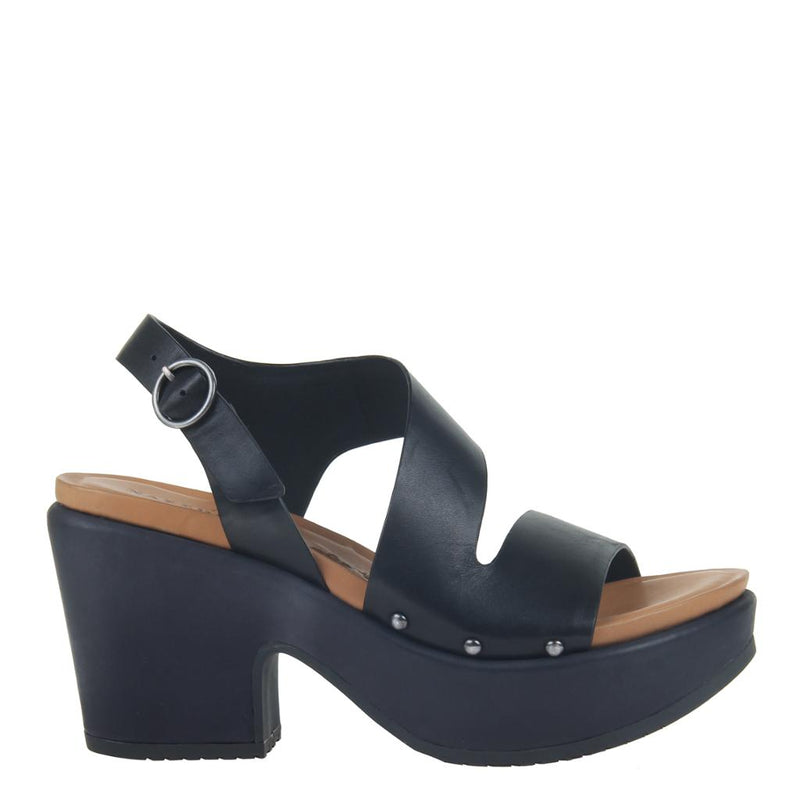 DASA in BLACK Heeled Sandals