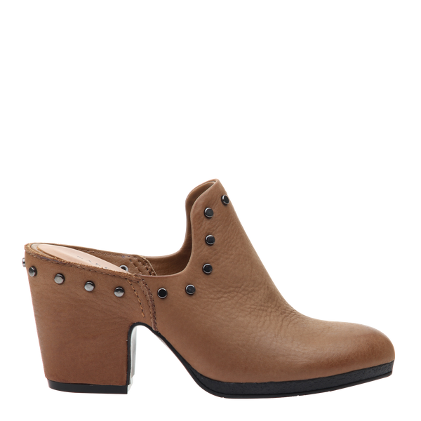 Womens mule Diem in rubber right