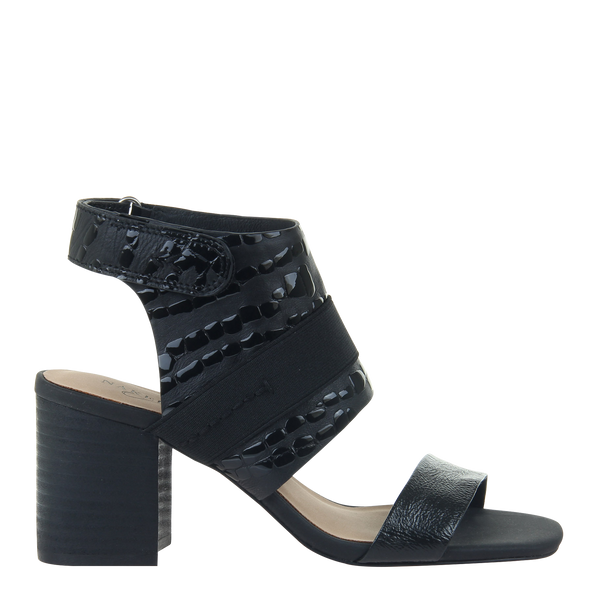 Womens heel Fresca in black  right