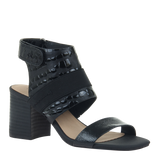 Womens heel Fresca in black