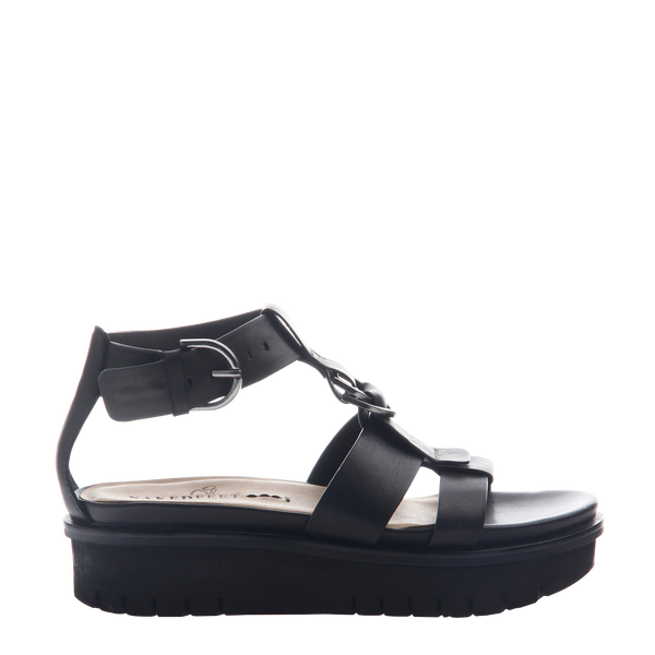 Womens sandal Hadar in Black Right