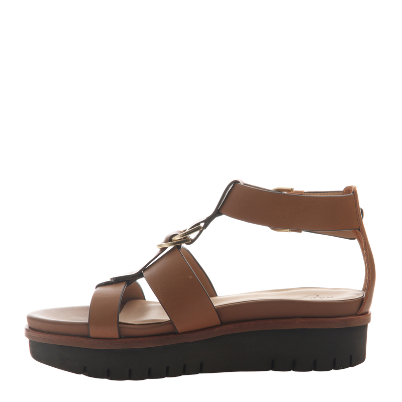 Womens sandal Hadar in Honey Left