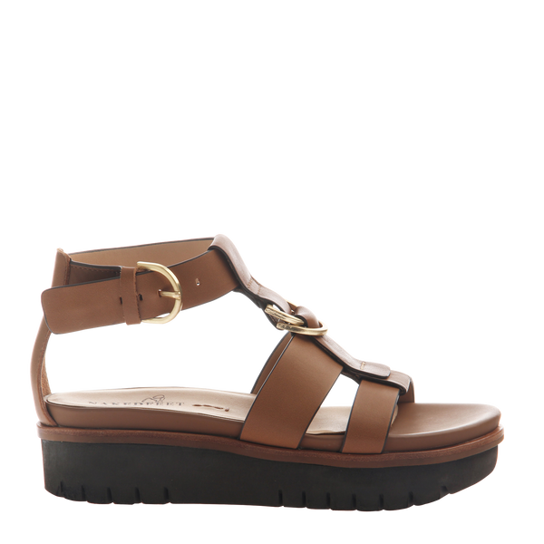 Womens sandal Hadar in Honey Right