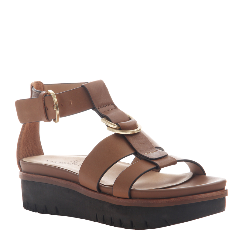Womens sandal Hadar in Honey