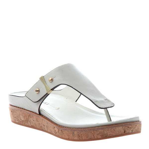 HADIDD in SPORT WHITE Flat Sandals