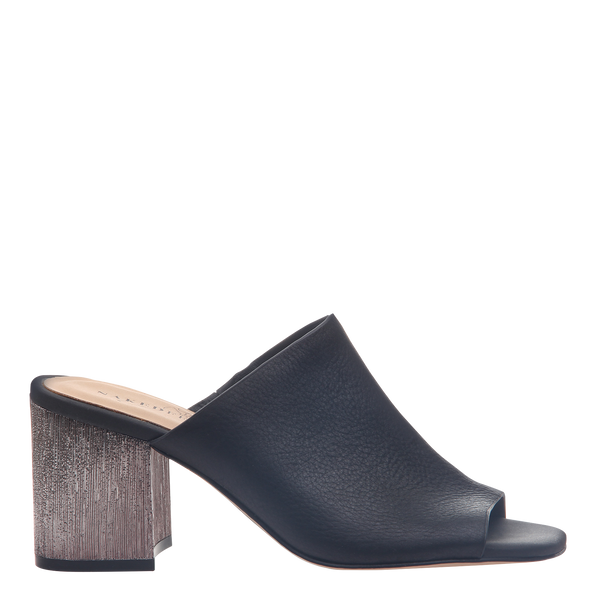 Womens Heel Harissa in Black right