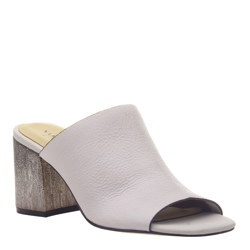 Womens Heel Harissa in Dove Grey