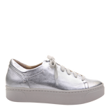 Womens sneaker Helixx in Silver right
