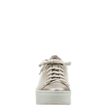 Womens sneaker Helixx in Soft Gold front