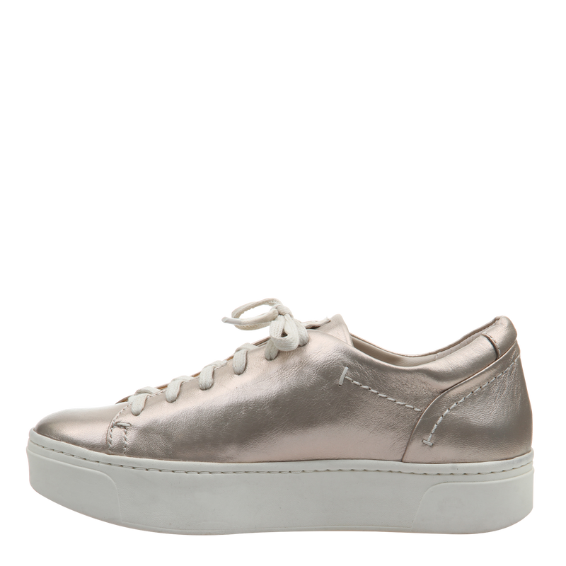 Womens sneaker Helixx in Soft Gold left