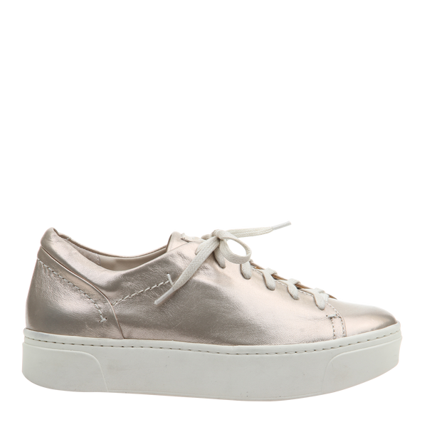 Womens sneaker Helixx in Soft Gold Right