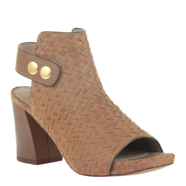 JUNO in NEW TAN Heeled Sandals