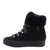 Womens boot Kaffra in Black left