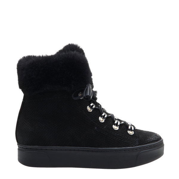 Womens boot Kaffra in Black right