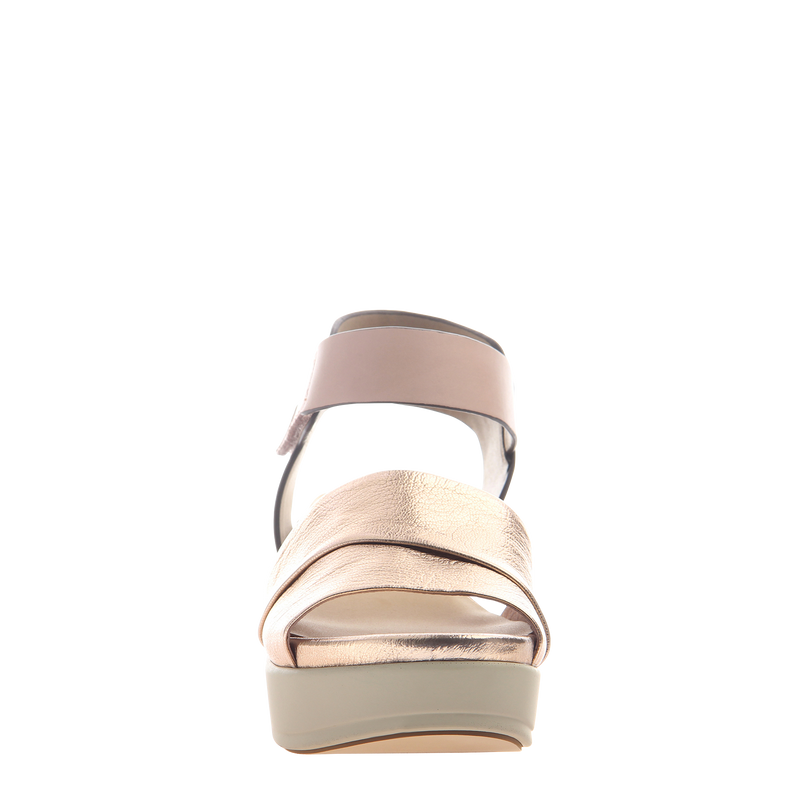 Womens sandal Koda in Copper front