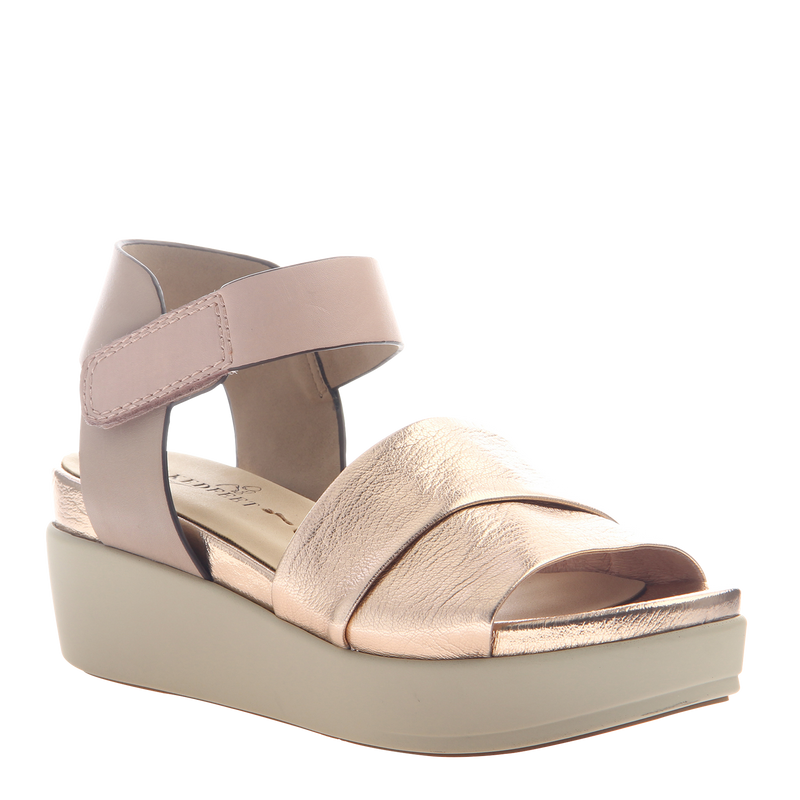 Womens sandal Koda in Copper