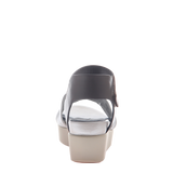 Womens sandal Koda in off white back