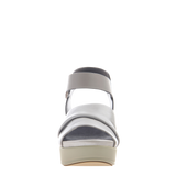 Womens sandal Koda in off white front