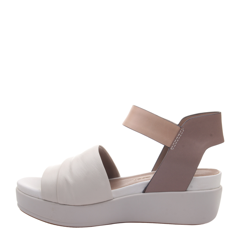 Womens sandal Koda in Sport White left