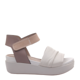 Womens sandal Koda in Sport White right