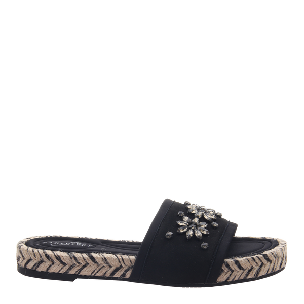 Womens sandal Koyo in black right
