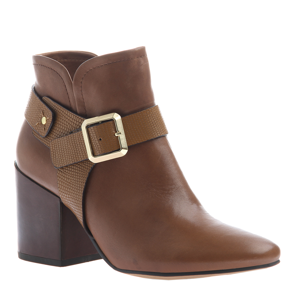 LEILANI in NEW BROWN Ankle Boots