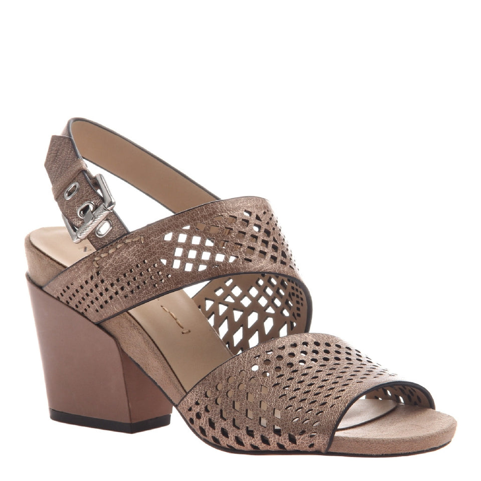 LEO in COPPER Heeled Sandals