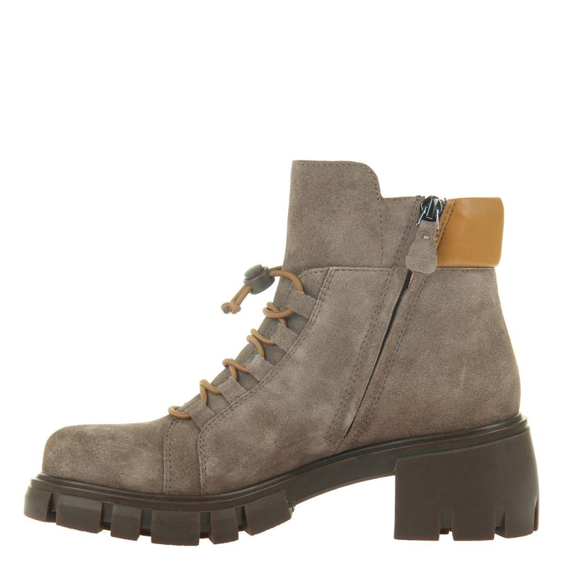 MILITANT in ECRU Ankle Boots