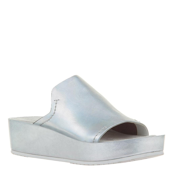 RENO in SILVER Wedge Sandals