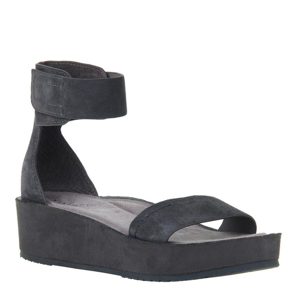 RENZI in SOFT GREY Wedge Sandals