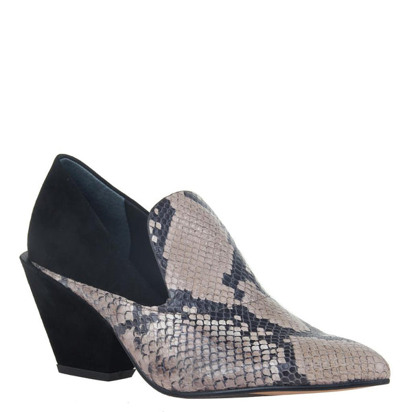 SAGITTA in SNAKE PRINT Ankle Boots