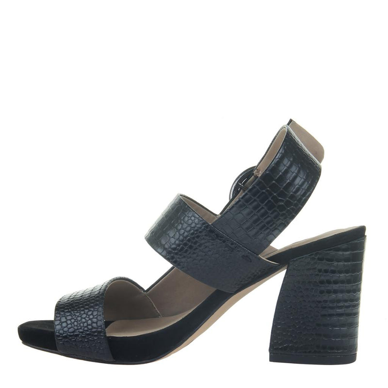 TORINO in BLACK Heeled Sandals