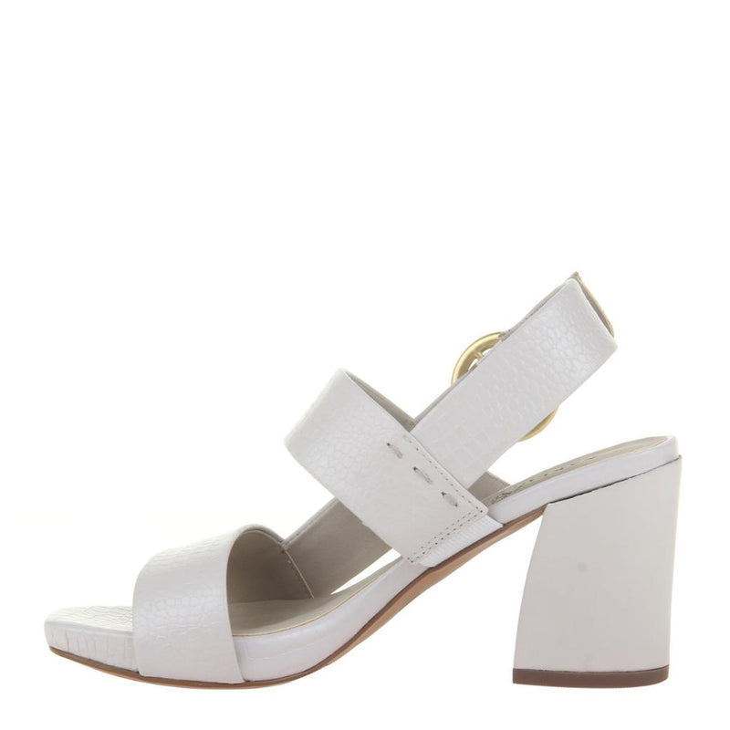 TORINO in CHAMOIS Heeled Sandals