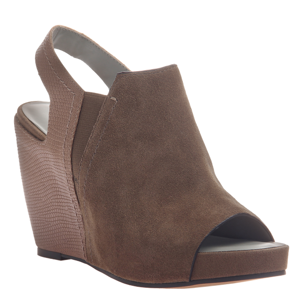 Columba womens wedge sandal in otter