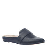 Naked Feet Womens slide Thyme in black