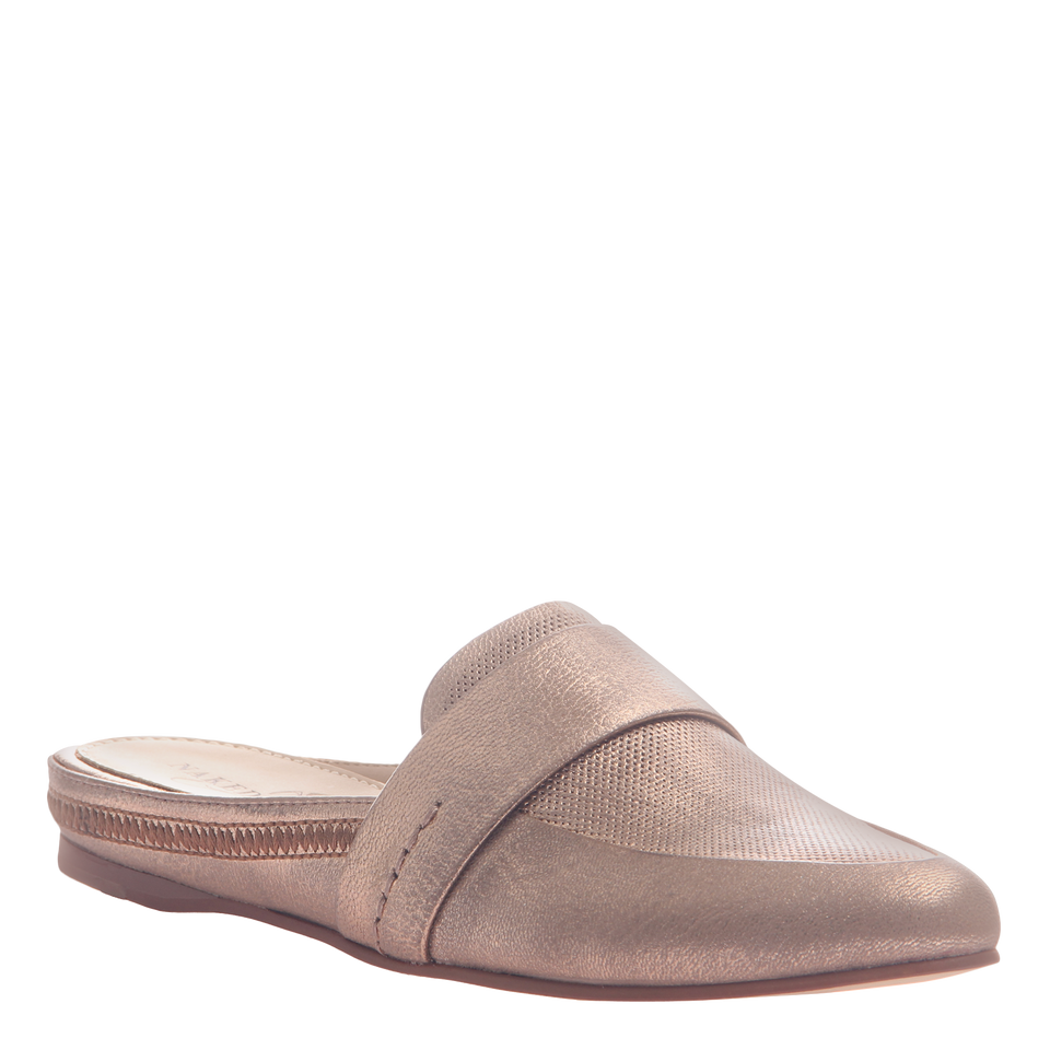 Naked Feet women's flat Thyme in copper