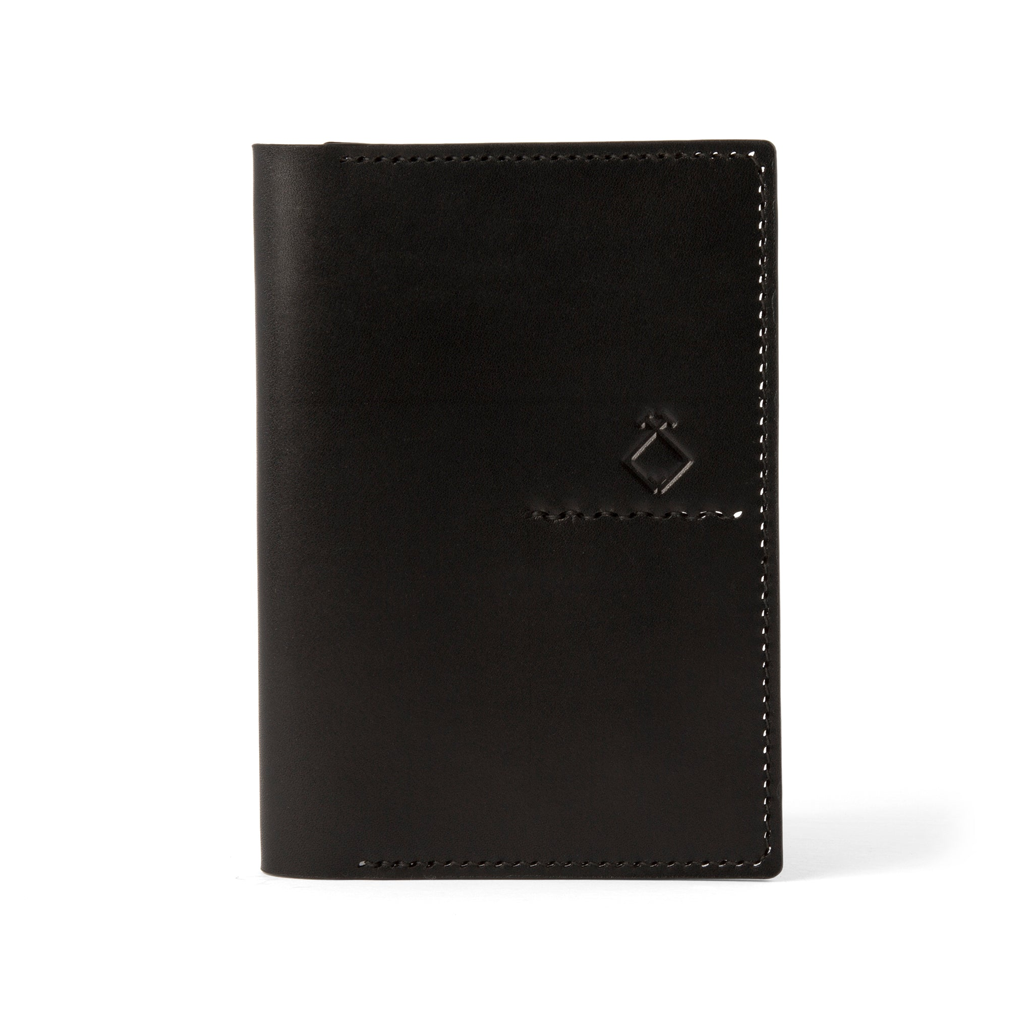 The Troy Passport Sleeve - Tochigi Black - Lajoie