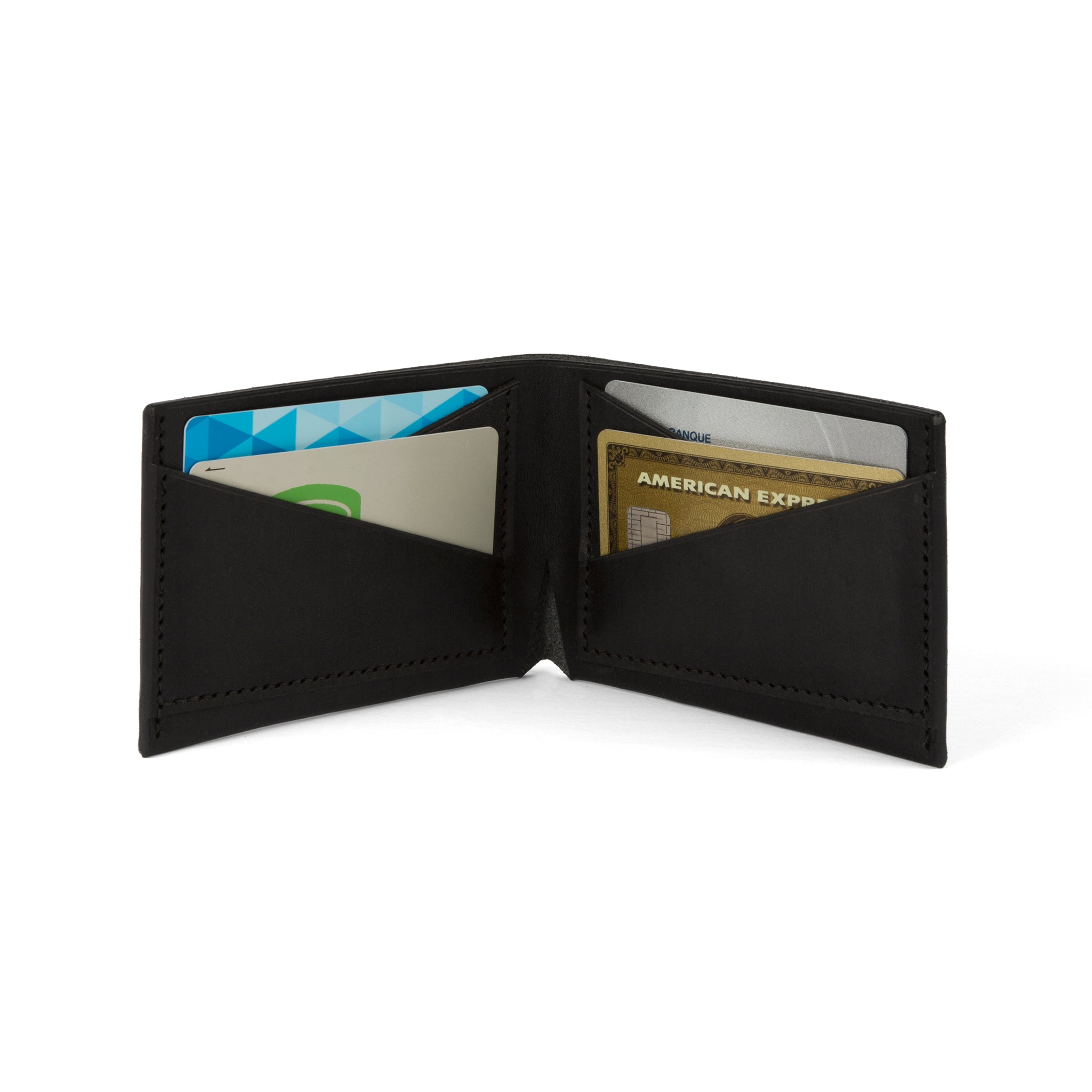The Summerville Bi-Fold Wallet - Tochigi Black - Lajoie