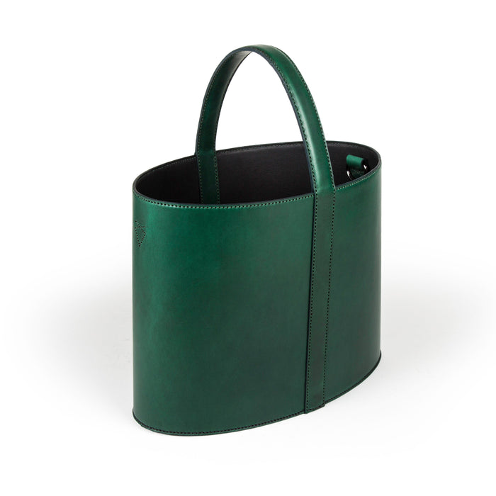 The Panier - Horween Green Cavaliere