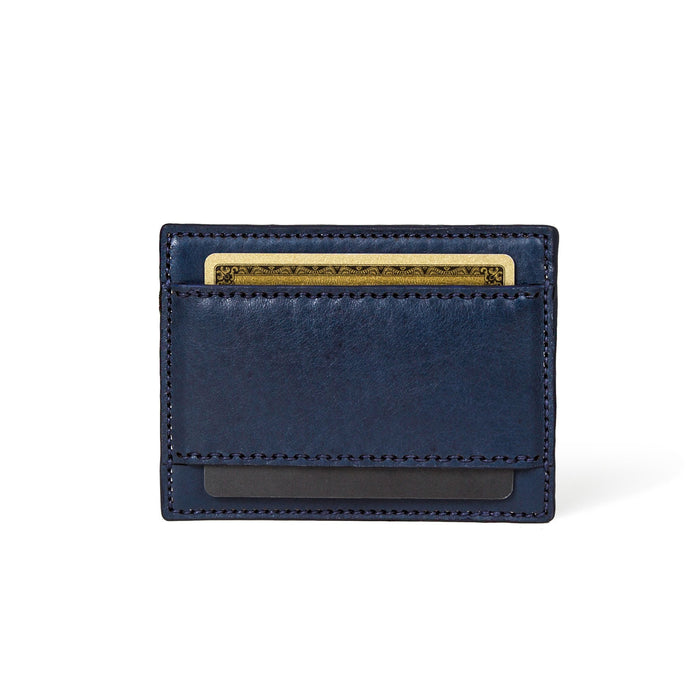 The Decoy -  Horween Navy Pebbled Essex