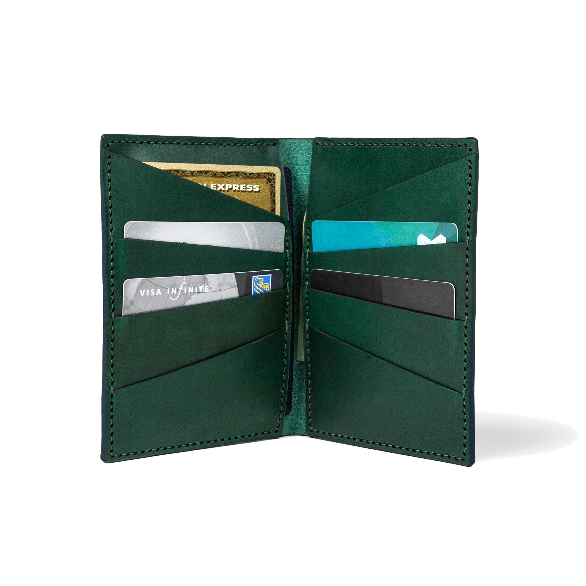 The Nomad - Horween Green Cavaliere - Lajoie