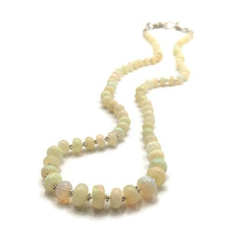 Ethiopian Opal Beaded Necklace